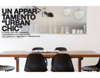 "dentroCASA _ Un appartamento ""Urban Chic"""