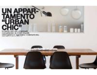 """dentroCASA _ Un appartamento """"Urban Chic"""""""